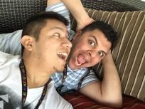 Juan & I being crazy