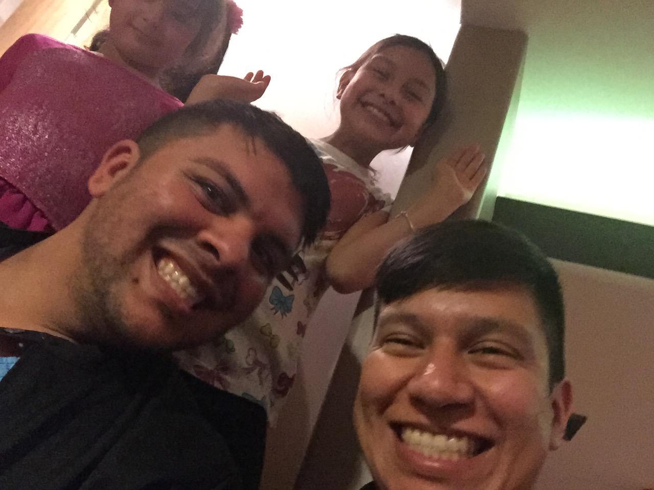 Jorge Brio , Juan and Jasmin